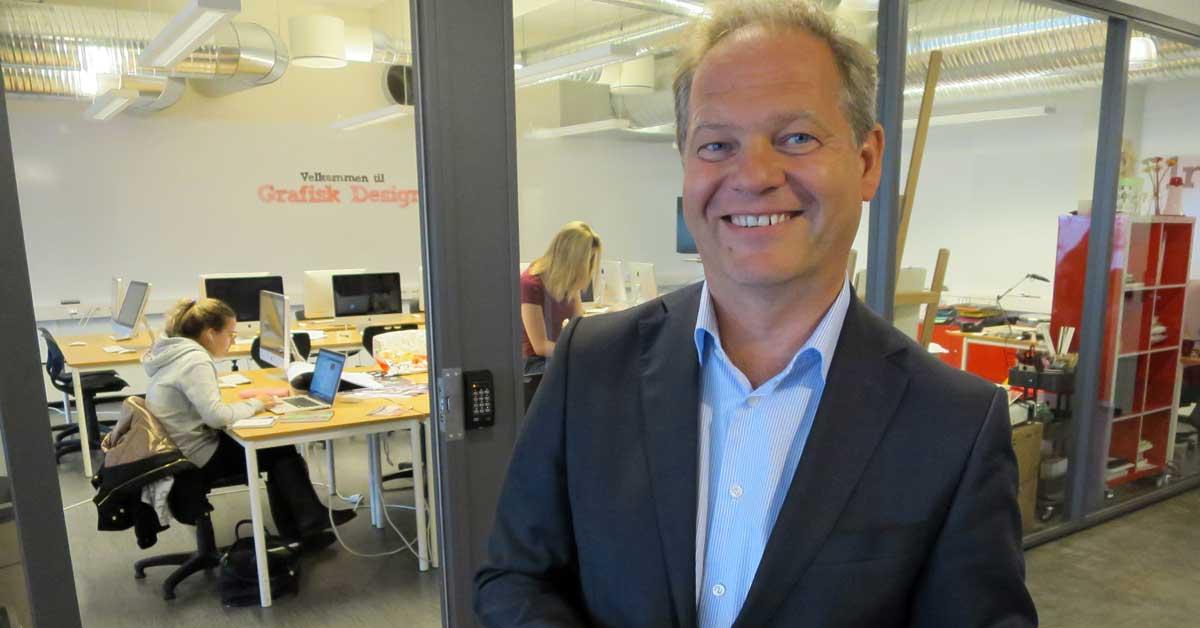 Lars Erik Torjussen, adm.dir, Noroff Education