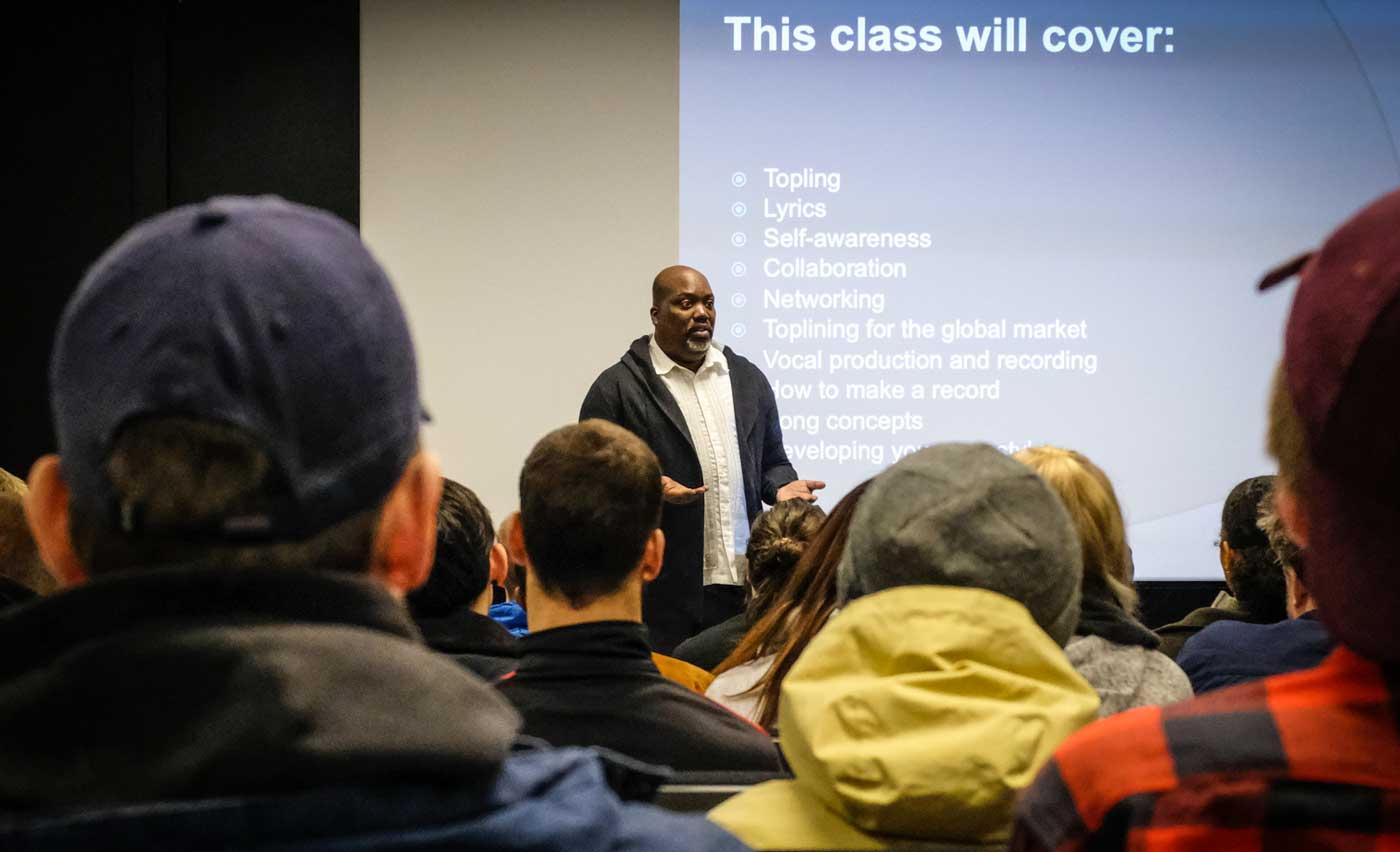 Curtis Richardson lecture