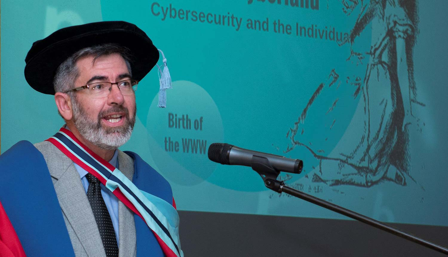 Cyber Security professor Johan Van Niekerk