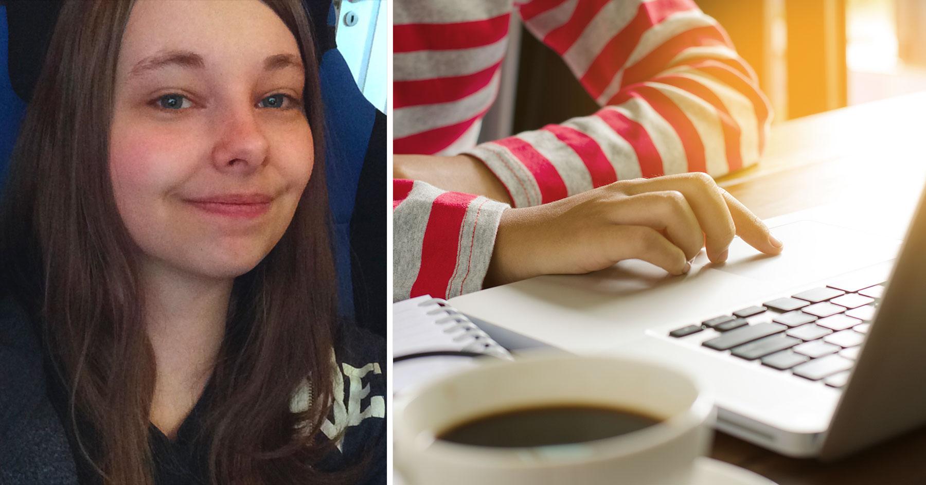 Rebekka Hangeland-Larsen, nettstudier