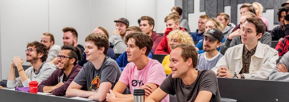 rekordmange studenter, Noroff, studiestart
