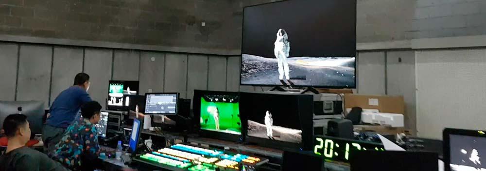 VFX Kinesisk månelanding