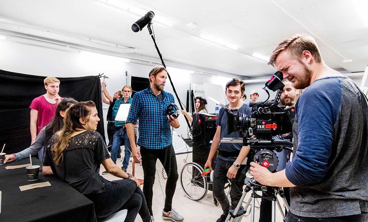 Studenter filmproduksjon