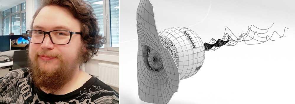 Karl-Morten Kvammen, 3D design og animasjon Noroff Oslo